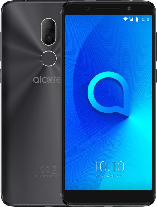Alcatel 3X - 32GB - Zwart