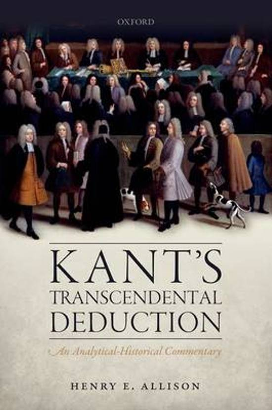 an examination on transcendental deduction by kant