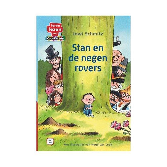 Leren lezen met Kluitman - Stan en de negen rovers 1