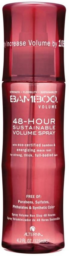 Alterna Bamboo Volume 48 hour sustainable volume spray 125ml