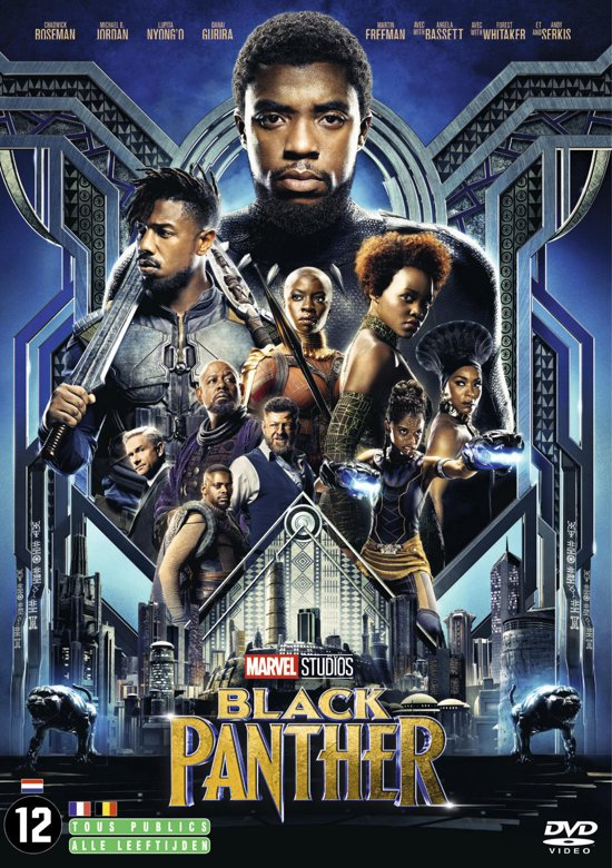 DVD cover van Black Panther