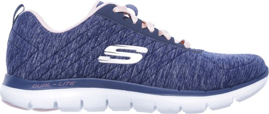 Skechers Flex Appeal 2.0 Sneakers Dames Navy
