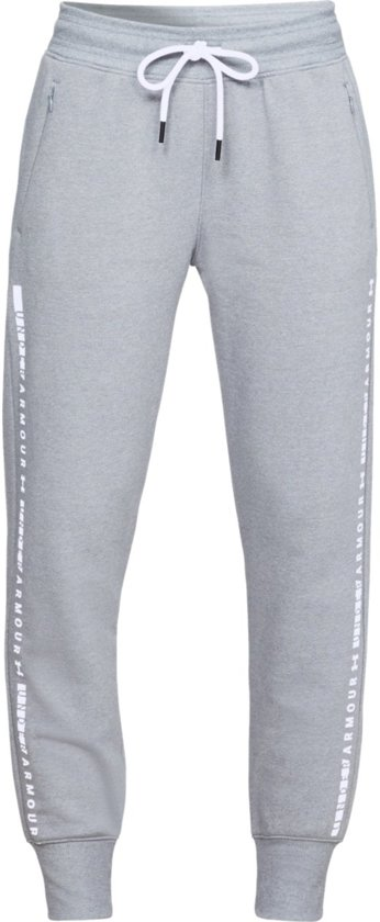 Warme Joggingbroek Dames.Bol Com Under Armour Tb Ottoman Fleece Pant Sportbroek Dames