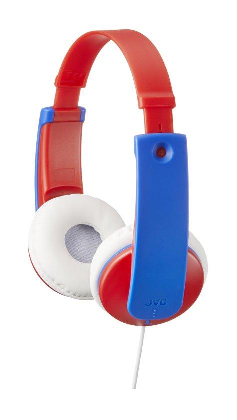 JVC HA-KD7RE - On-ear kids koptelefoon - Rood