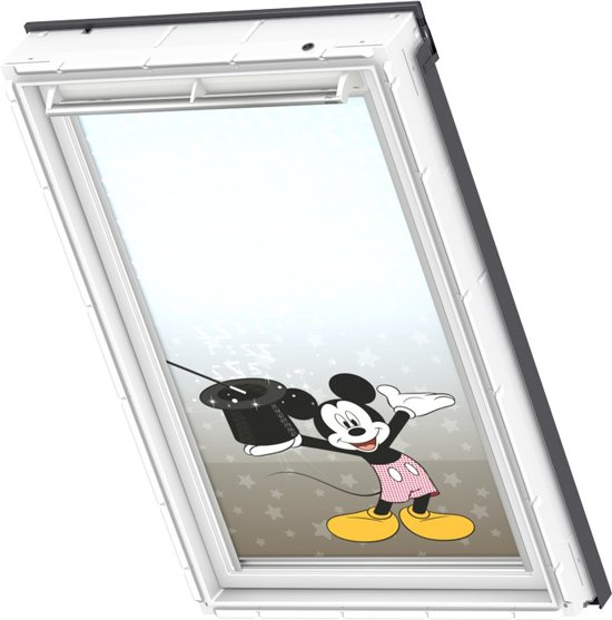 velux verduisterend rolgordijn disney mickey mouse handbediend raamcode. Black Bedroom Furniture Sets. Home Design Ideas