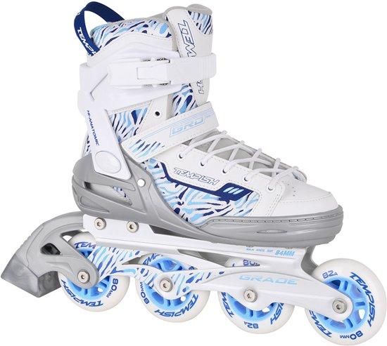 d9bbcc16cfc Tempish Grade Lady Skate Inlineskates - Maat 39 - Vrouwen - wit/blauw/grijs