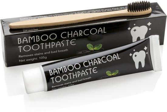 Charcoal Tandpasta