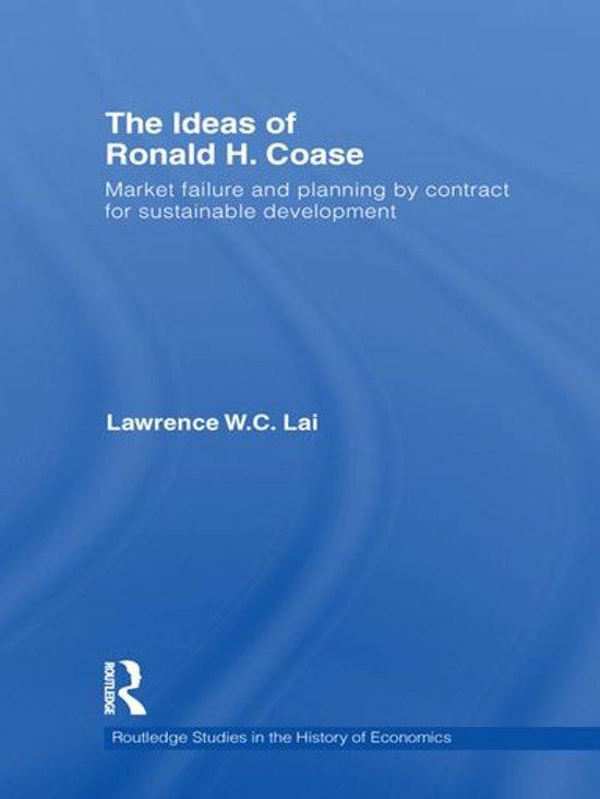 The Ideas of Ronald H. Coase