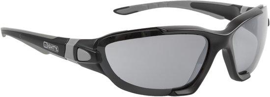 Mighty Bike - Sportbril - Volwassenen - Lenscat. 1-3 - ☀/☁ - Zwart