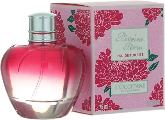 MULTIBUNDEL 2 stuks L'Occitane Pivoine Fleur Eau De Toilette Spray 75ml