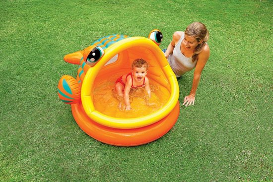 Intex Lazy Fish Shade Baby Zwembad