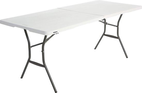 Lange tafel Lifetime Tyrell inklapbaar (183x76x74cm)
