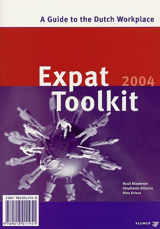 Cover van het boek 'Expat Toolkit / 2004 / druk 1'