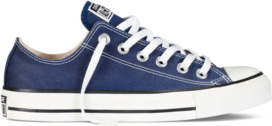 Converse All Star Sneakers Laag - Navy
