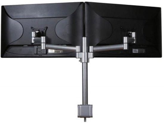 Filex 809104 Skylon monitorarm 2.0 Dubbel [2x 30 inch 8kg, 180°/260°, 410mm, Silver]