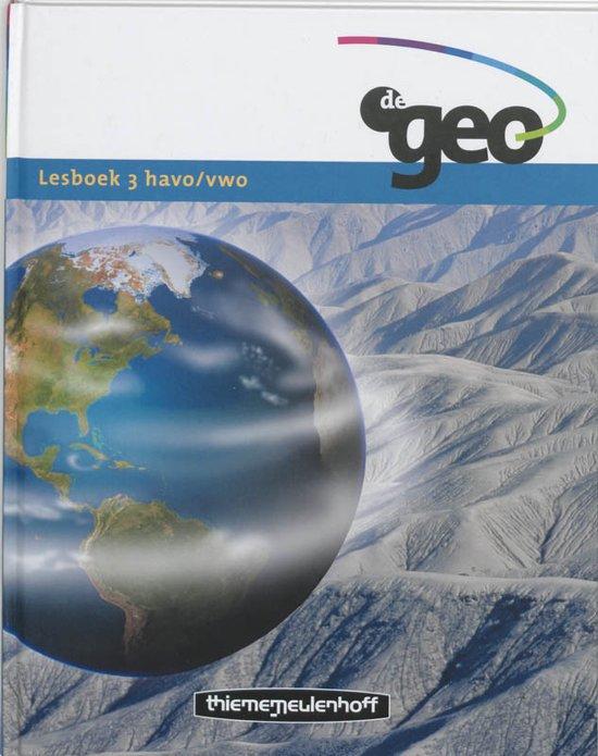 De Geo / 3 Havo/Vwo / Deel Lesboek