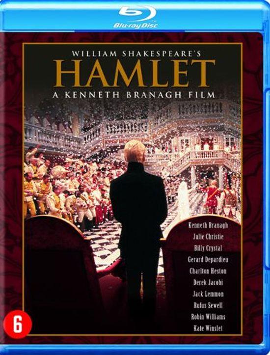 DVD cover van Hamlet (Blu-ray)
