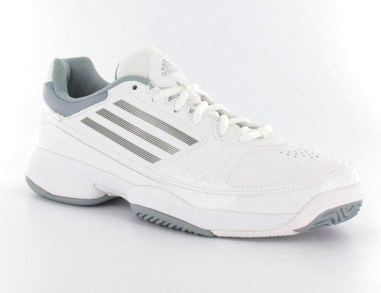 adidas Galaxy Arriba - Tennisschoenen - Dames - Maat 42 - Wit/Metallic  Zilver/