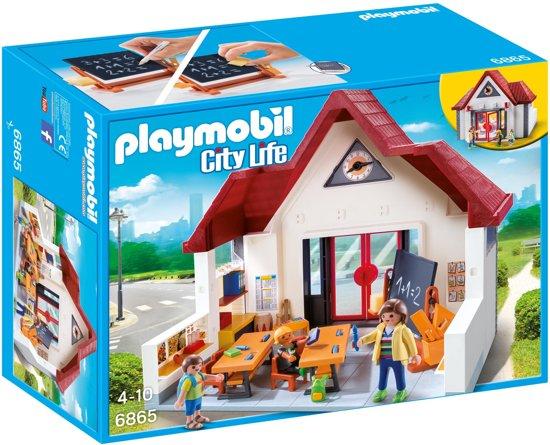 Playmobil Meeneemschool - 6865