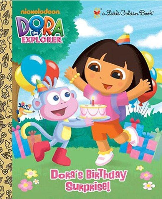Boek cover Doras Birthday Surprise! van Molly Reisner (Hardcover)