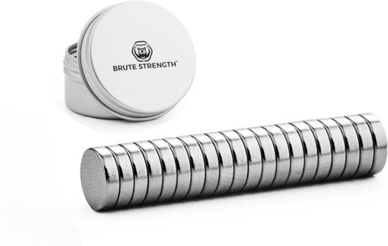 Super sterke magneten - Rond - 8 x 2 mm - 20 Stuks
