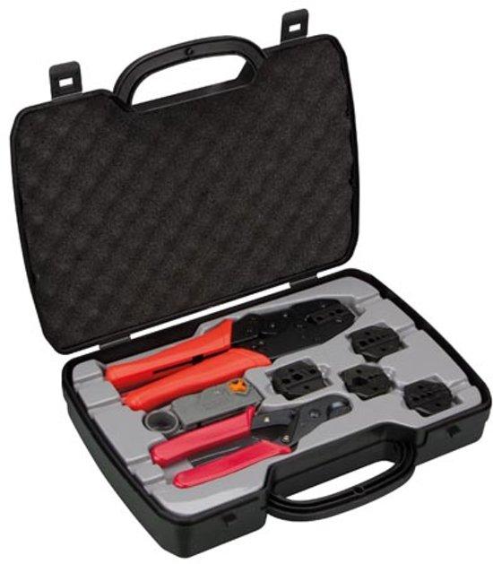 Complete Kit Met Coax Krimptang En Bekkens