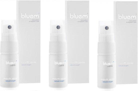 Foto van Bluem mondspray - 3 stuks - voordeelverpakkking