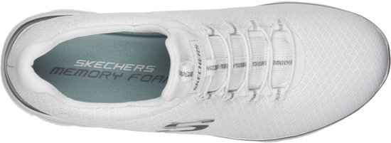 Skechers Summits Dames Sneakers - Wit