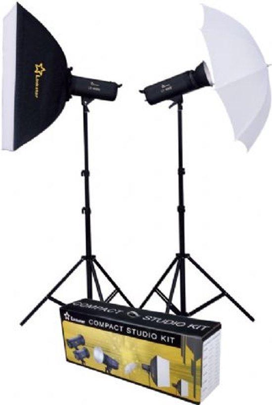 Linkstar LFK-250D Zwart apparatuurset voor fotostudio in Sint-Margriete-Houtem (Tienen)