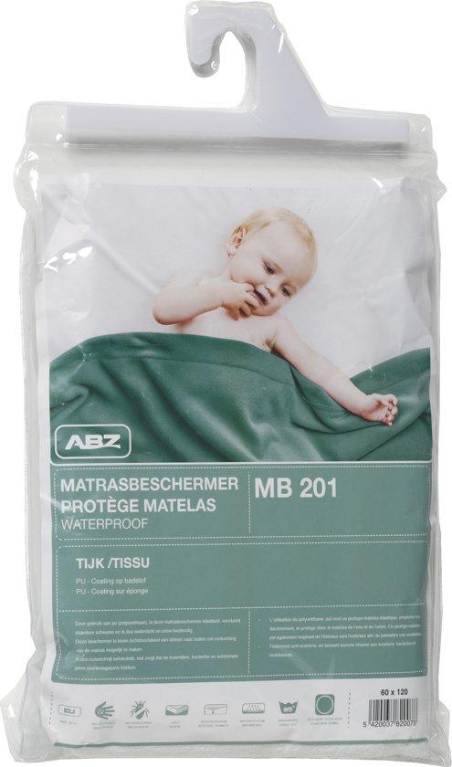 ABZ Waterdicht Hoeslaken 60x120 cm - Wit