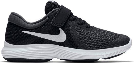 Nike Revolution 4 Bpv Jongens Sneakers - Black/White-Anthracite - Maat 35