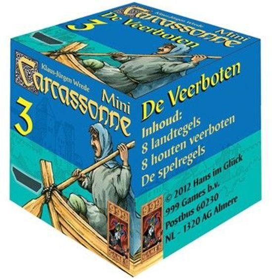 Afbeelding van het spel Carcassonne: Mini Uitbreiding De Veerboten