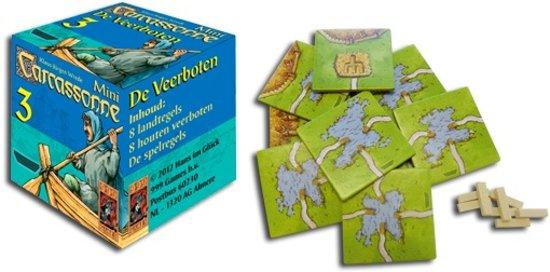 Thumbnail van een extra afbeelding van het spel Carcassonne: Mini Uitbreiding De Veerboten