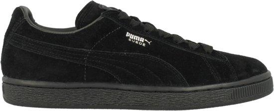 Puma Sneakers Zwart Suede
