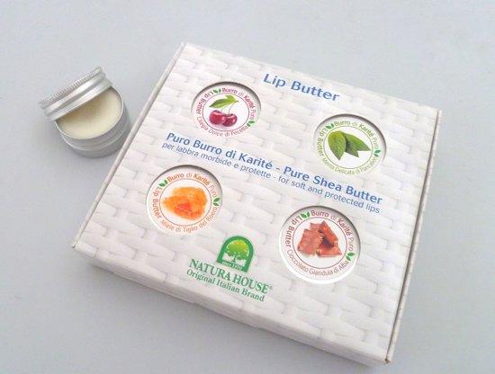 Natura House Shea Butter Lippenbalsem voordeelset- 4 Smaken.