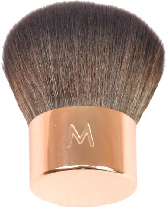 Maestro by Mari make-up kwast kabuki kwast rose goud - synthetisch