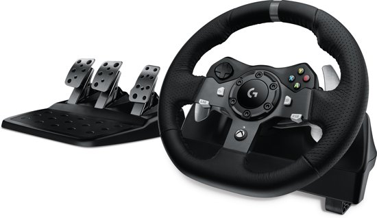 Logitech G920 Driving Force - Racestuur - Xbox One + Pc