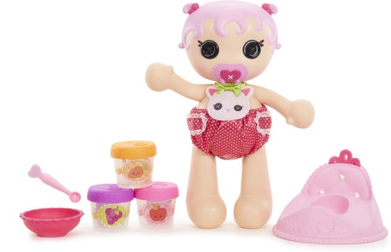 Bol Com Lalaloopsy Babies Surprise Potty Doll Mga