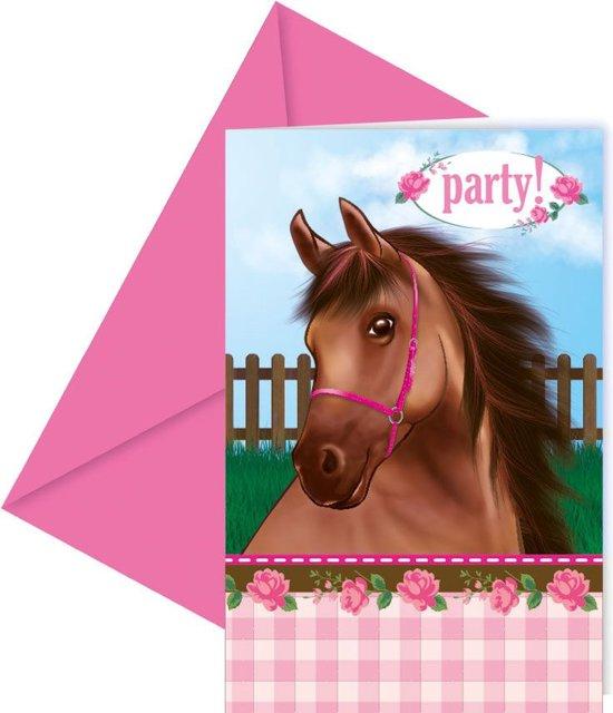 Fabulous bol.com | Uitnodiging Verjaardag Paarden, Merkloos | Speelgoed #SW15