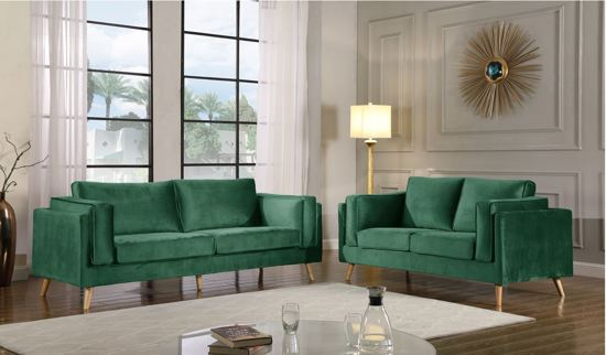 Peachy Sofa Smoothy Set Van 2 2 3 Zits Groen Inzonedesignstudio Interior Chair Design Inzonedesignstudiocom