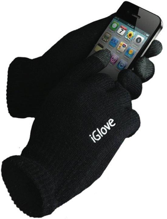 iGlove Touchscreen handschoenen (touch gloves), Zwart