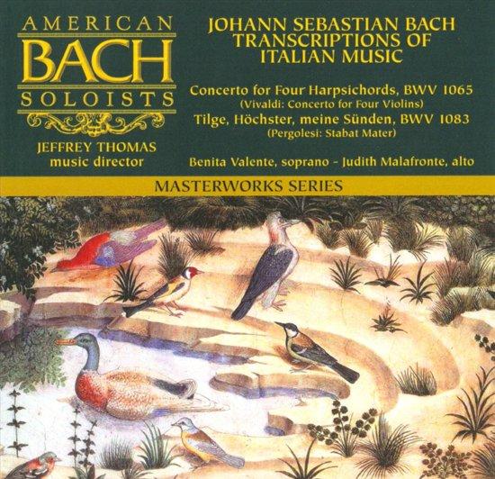Bach: Transcriptions of Italian Music