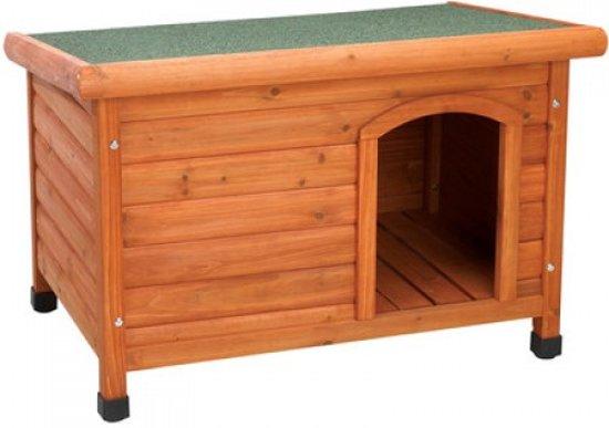 Topmast Hondenhok hout 82x52x60cm