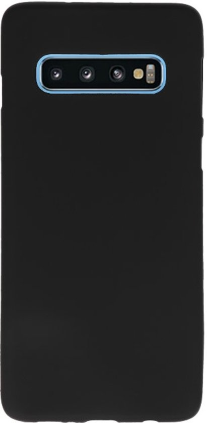 Wicked Narwal | Color TPU Hoesje voor Samsung Samsung Galaxy S10 Zwart