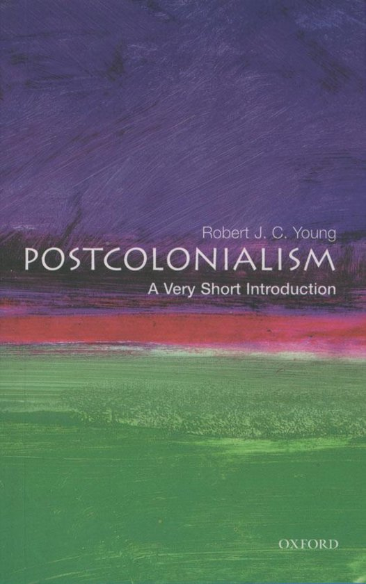 Boek cover Postcolonialism: A Very Short Introduction van Robert J. C. Young (Onbekend)