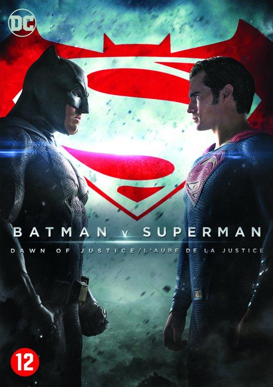 DVD cover van Batman v Superman : Dawn Of Justice
