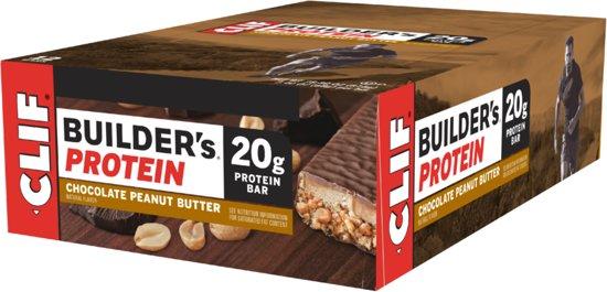 Clif bar Clif Builder's Bar - 12 bars - Chocolate