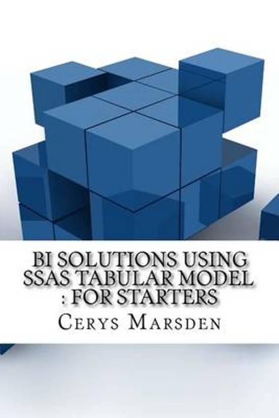 Bi Solutions Using Ssas Tabular Model