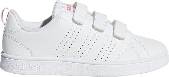 c17a5b6b4f4 adidas VS Advantage CL CMF C Sneakers Kinderen - Ftwr White/Ftwr White/Super