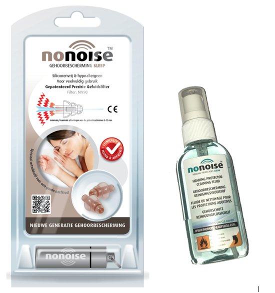 NoNoise - Slapen - Oordoppen - 1 paar + Cleaner